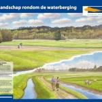 Informatiepaneel waterberging gemeente Bergen (N-H)