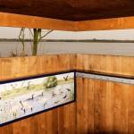 Informatiepaneel vogelkijkhut Schiermonnikoog