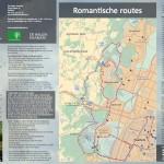 Staatsbosbeheer folder kaart fietsroute Haarlem