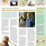 Informatiekrant over weidevogelboerderijen