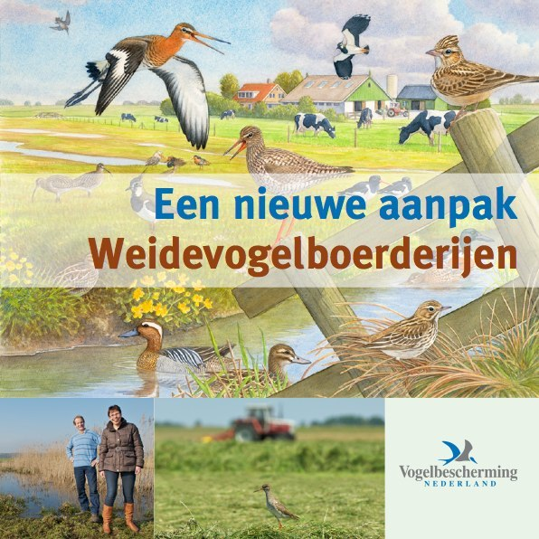 Cover brochure weidevogels