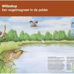 Informatiepaneel Staatsbosbeheer Willeskop